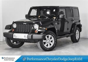 2013 Jeep WRANGLER UNLIMITED Sahara * LEATHER * NAVIGATION