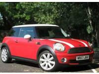 Red Mini Cooper 2007