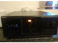 SONY CDP CX235 MEGA STORAGE CD PLAYER JUKEBOX
