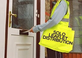 LEAFLET DISTRIBUTOR WANTED FOR BEXELY, BROMLEY, SEVENOAKS AND DARTFORD AREAS