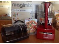 MAGIMIX 4200XL Red Food Processor Brand New Fully Boxed with all Accessories