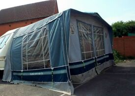 Isabella Ambassador 2504 caravan awning