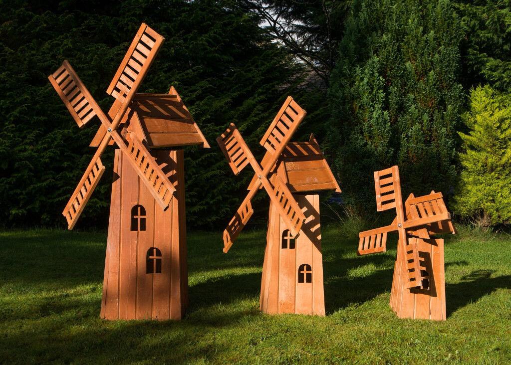 Attractive Large Wooden Garden Windmill In Southside Glasgow Gumtree