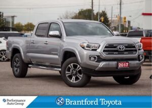 2017 Toyota Tacoma Limited V6, Brand New, Navi, Brown Leather