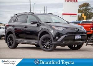 2018 Toyota RAV4 Trail Edition, AWD, Only 14887 Km's, Sunroof,
