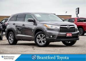 2016 Toyota Highlander LE, FWD, Off Lease, Leather, Heated Seats
