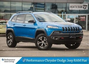 2018 Jeep Cherokee Trailhawk * Navigation * Heated Seats
