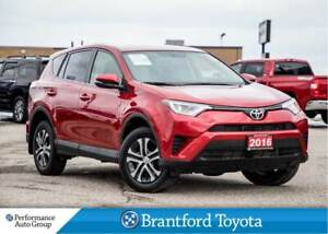 2016 Toyota RAV4 LE, FWD, Off Lease, Only 50855 Km!!