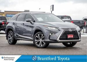 2016 Lexus RX 350 Only 30510 Km's, Luxury Package, Navigation