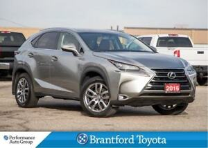 2016 Lexus NX 200t Luxury, Navi, Blind Spot, Heated Steering Whe