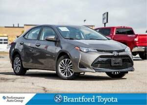 2018 Toyota Corolla XLE, Only 708 Km's, Navi, Leather, Sunroof,