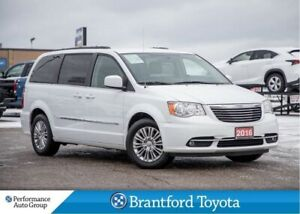 2016 Chrysler Town & Country Leather, Heated Seats, Back Up Came