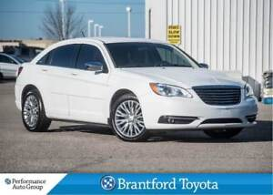 2012 Chrysler 200 V6, Trade In, Navigation, Tinted, Heated Seats