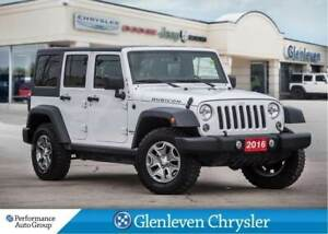 2016 Jeep WRANGLER UNLIMITED Rubicon leather navigation dual top
