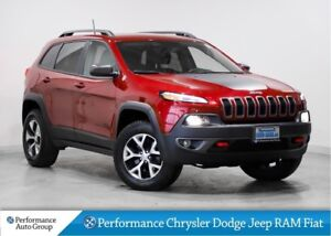 2016 Jeep Cherokee Trailhawk * Navigation * Leather Interior