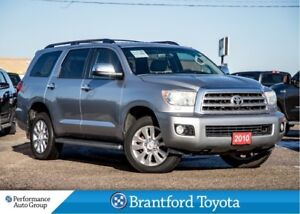 2010 Toyota Sequoia Platinum-Navi-DVD-Radar Cruise-Captain Chair