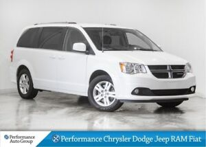 2018 Dodge Grand Caravan Crew * Navigation * Leather Heated Seat