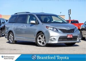 2014 Toyota Sienna SE, Power Sunroof, Back Up Camera, Off Lease