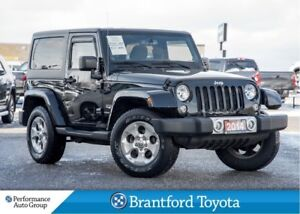 2014 Jeep Wrangler Sahara, Hard Top, Navigation, Manual Transmis