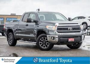 2015 Toyota Tundra TRD, Double Cab, 4x4, Off Lease, Running Boar