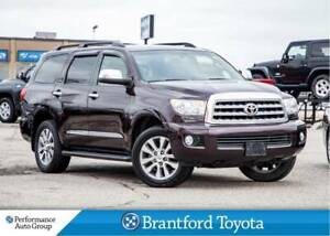 2016 Toyota Sequoia Limited, Local Trade In, Leather, Running Bo