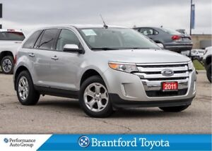 2011 Ford Edge SEL, FWD, Power Heated Seats, One Owner Trade