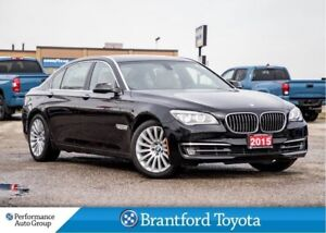 2015 BMW 750I xDrive, Only 39189 Km's, Navigation, A Must See!!
