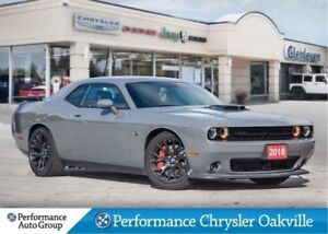 2018 Dodge Challenger R/T 392 tech package leather sunroof