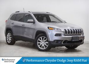 2017 Jeep Cherokee Limited * 4x4 * Pano Roof * Navigation