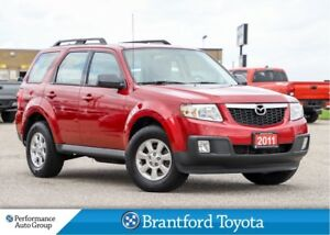 2011 Mazda Tribute GX, FWD, 4 Cyl, Only 105602 Km's, One Owner T