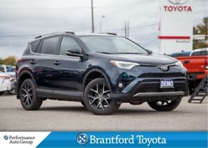 2018 Toyota RAV4 SE, Dealer Demo, Only 14457 km's, Leather