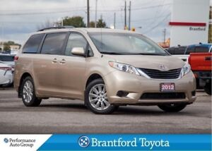 2012 Toyota Sienna LE, AWD, One Owner Trade, Back Up Camera