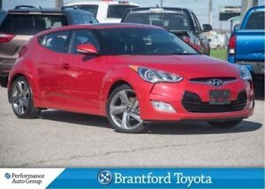 2015 Hyundai Veloster Navigation, Manual, Only 70861 Km's, Trade