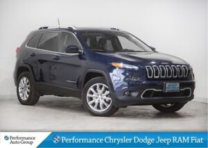 2016 Jeep Cherokee Limited * Nav * Leather Heated Seats