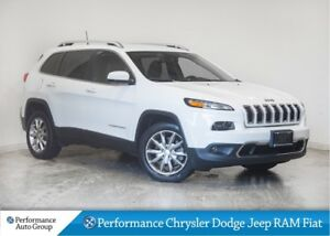 2017 Jeep Cherokee Limited * Leather Seats * Navigation