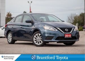 2016 Nissan Sentra Navigation, Sunroof, Alloy Wheels, Push Start