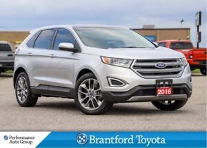 2016 Ford Edge Titanium, FWD, 20 Inch Wheels, Tinted