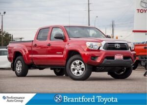 2015 Toyota Tacoma V6, 4X4, New Tires! Double Cab, Back Up Camer