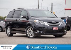 2015 Toyota Sienna Limited, Only 78138, FWD, Off Lease, DVD