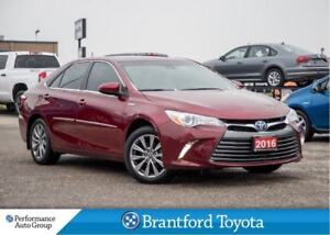 2016 Toyota Camry Hybrid XLE-Hybrid-Leather-Navi-LDA-Radar Cruis
