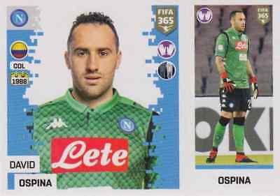 Sticker 16 Logo Panini FIFA365 2019 SSC Neapel