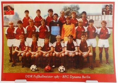 Fan Big Card Edition E3 DDR Fußball Meister 1978 SG Dynamo Dresden