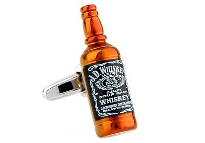 Whiskey Flasche Manschettenknöpfe Barkeeper Server Hochzeit - Flasche Whiskey Kostüm