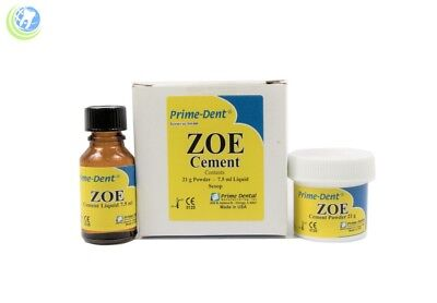 Dental Zoe Cement Intermediate Restorative Material Prime-dent Temporary Filling