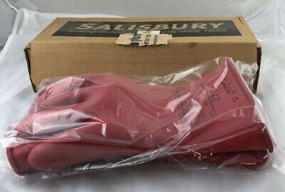 Salisbury Lineman Gloves Size 12 11 Length Class 0-5kv 061413