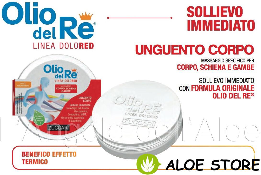ZUCCARI 1x OLIO DEL RE DOLORED UNGUENTO 100ml - MASSAGGIO CORPO SCHIENA GAMBE
