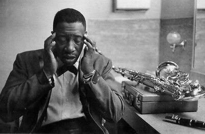 Joe Williams•Philadelphia 1960 American Jazz Musician•B&W Photo POSTCARD 4x6