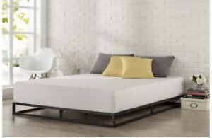 Low Profile King Size Bed Frame (Mattress not included)