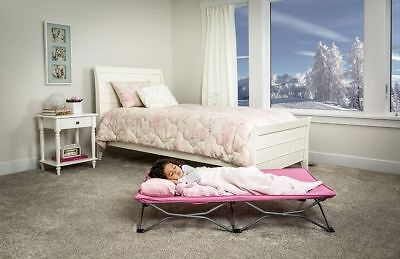 Best Regalo Travel Bed My Cot Portable Toddler Bed Sleeping Camping Kid Pink (Best Camping Cots)