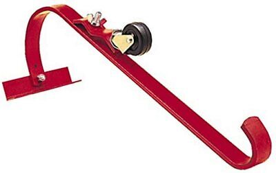Ladder Hook With Wheel Top Secure Securing Roof Rooftop Powder Coated Steel New